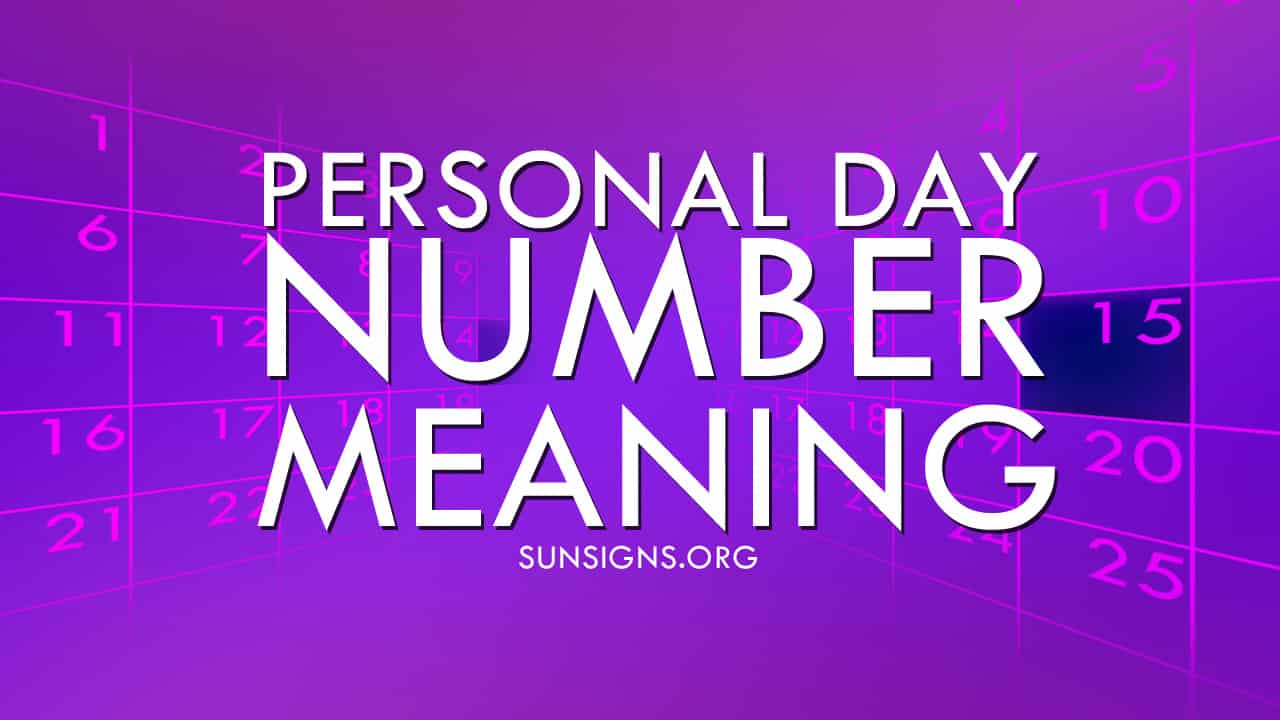 The Personal Day Number in numerology shows that you have to be aware and careful.