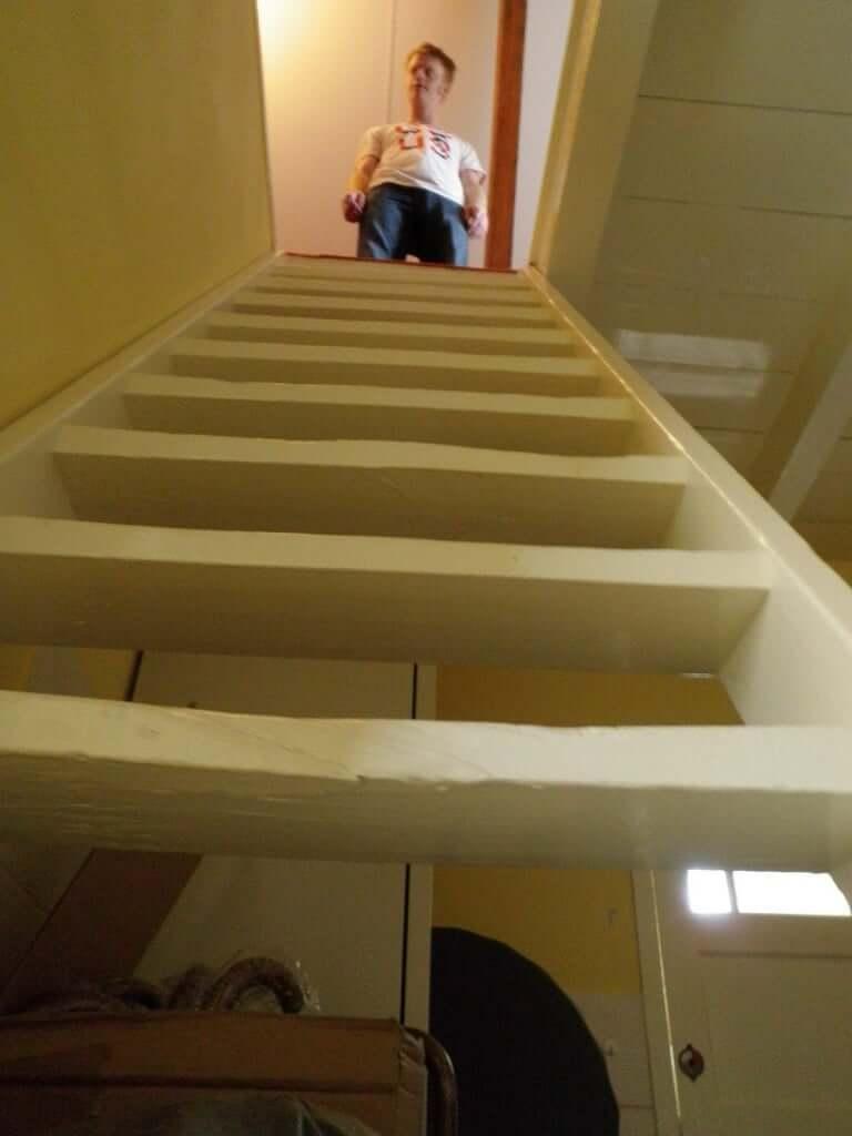 Avoid Steep Stairs