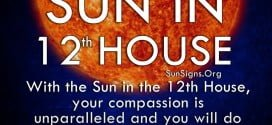 Sun In 12th House. With the Sun in the 12th House, your compassion is unparalleled and you will do anything for anyone in need.