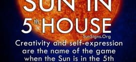 Sun In 5th House. Creativity and self-expression are the name of the game when the Sun is in the 5th house.