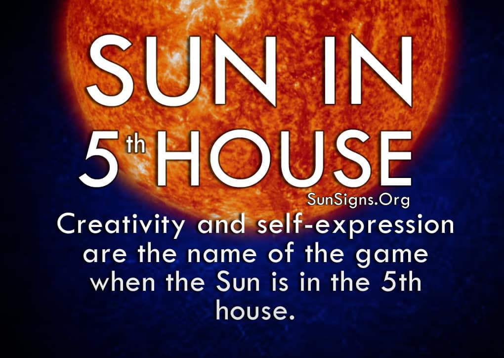 The Sun In 5th House