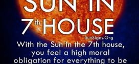 Sun In 7th House. With the Sun in the 7th house, you feel a high moral obligation for everything to be fair.