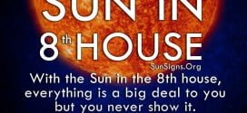 The Sun In 8th House