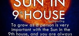 The Sun In 9th House