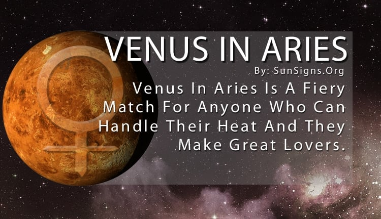 venus in aries compatibility