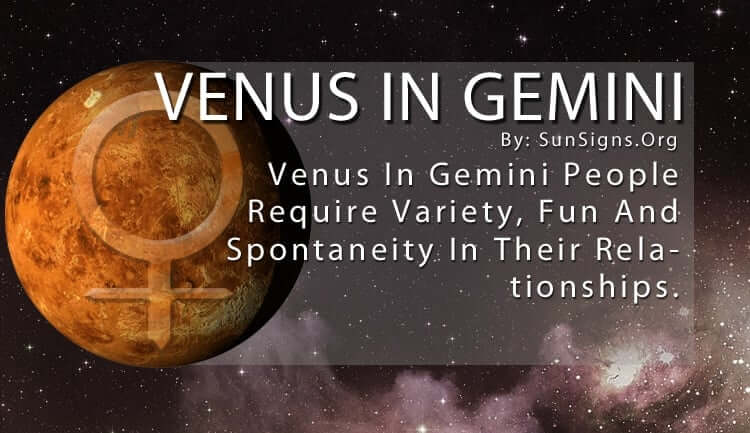 Venus In Gemini: Meaning, Significance And Personality
