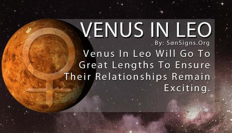 The Venus In Leo.