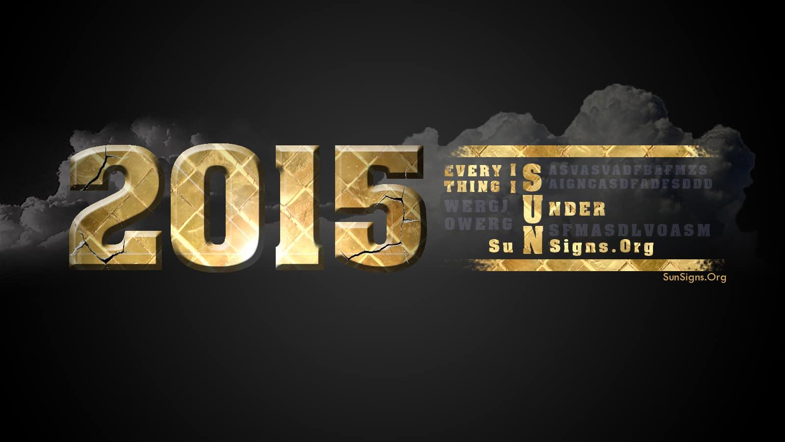 2015 horoscope predictions