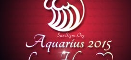 The Aquarius Love Horoscope 2015 for people born under this zodiac sign promises a fabulous year for love and romance.