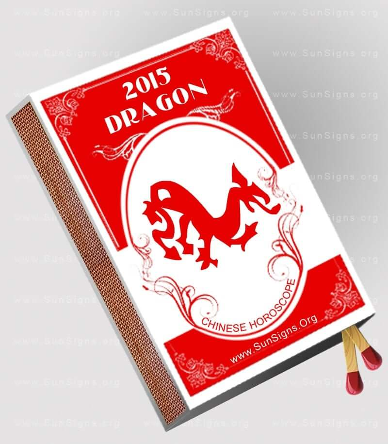 The 2015 dragon horoscope for the Year of Goat predicts that you will have a highly powerful and emotional year.