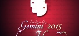 Gemini Love Horoscope 2015 predicts that you will be looking for commitment in partnerships during the year.