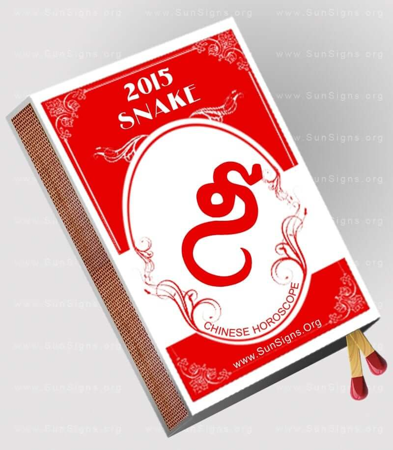The 2015 snake horoscope forecasts an eventful year with its share of obstacles and problems.