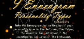 The Enneagram of Personality also known as just the Enneagram consists of 9 personality types.