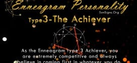 The Enneagram Type 3 Achiever or the Performer has the true world values of a victor