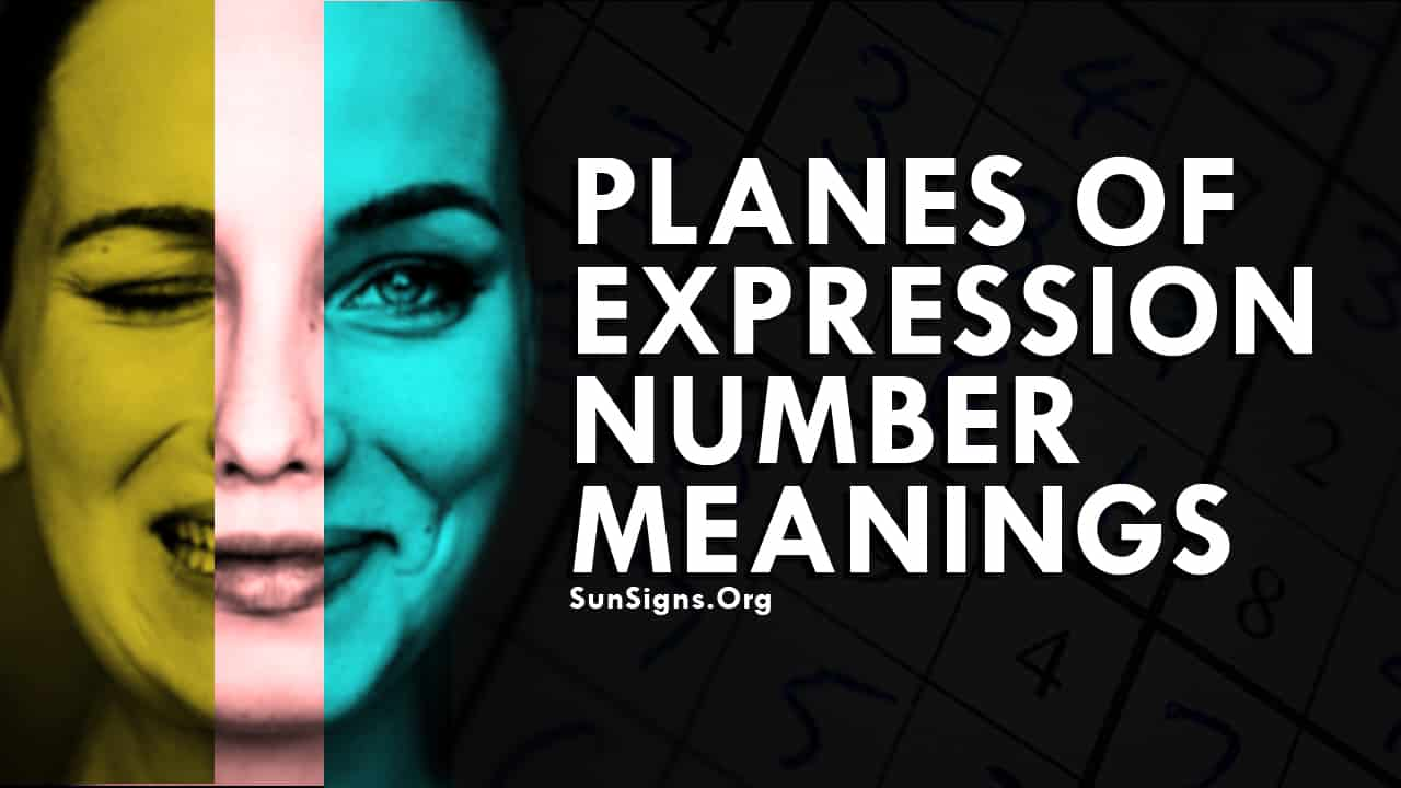 Planes Of Expression Number Meanings.