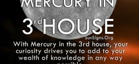 Mercury In 3rd House. With Mercury in the 3rd house, your curiosity drives you to add to your wealth of knowledge in any way possible.