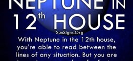 The neptune in twelfth house