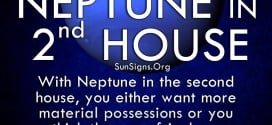 Neptune In Second House