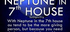 The neptune in seventh house