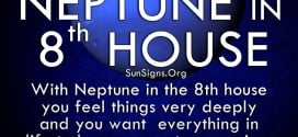 The neptune in eighth house