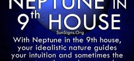 The neptune in ninth house