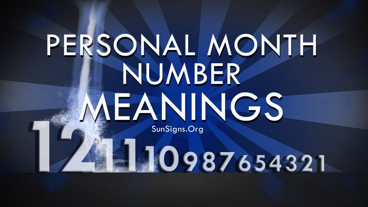 The Personal month number in numerology predicts about the general trends, lessons to be learnt, difficulties to be faced and the rewards we will get in a particular month.