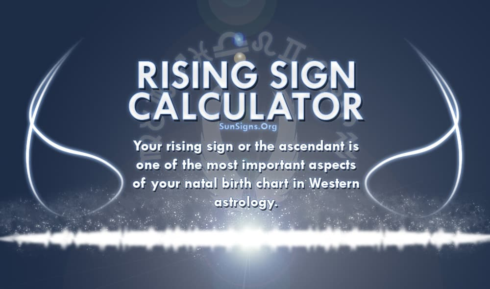 rising sign calculator
