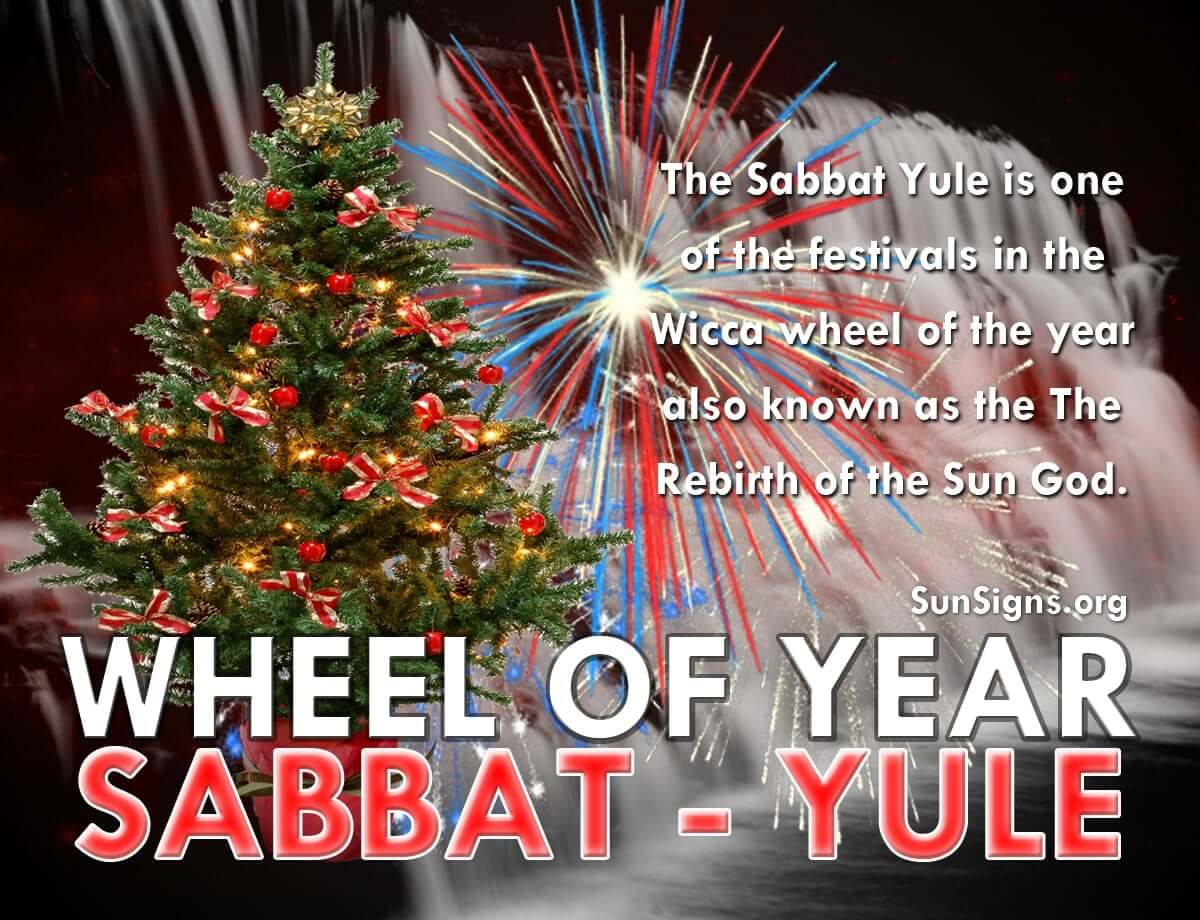 Wicca Christmas.Wicca Wheel Of The Year Sabbat Yule Sunsigns Org