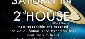 Saturn In 2nd House. As a responsible and practical individual, Saturn in the second house is most likely to live a comfortable lifestyle with a secure nest egg.