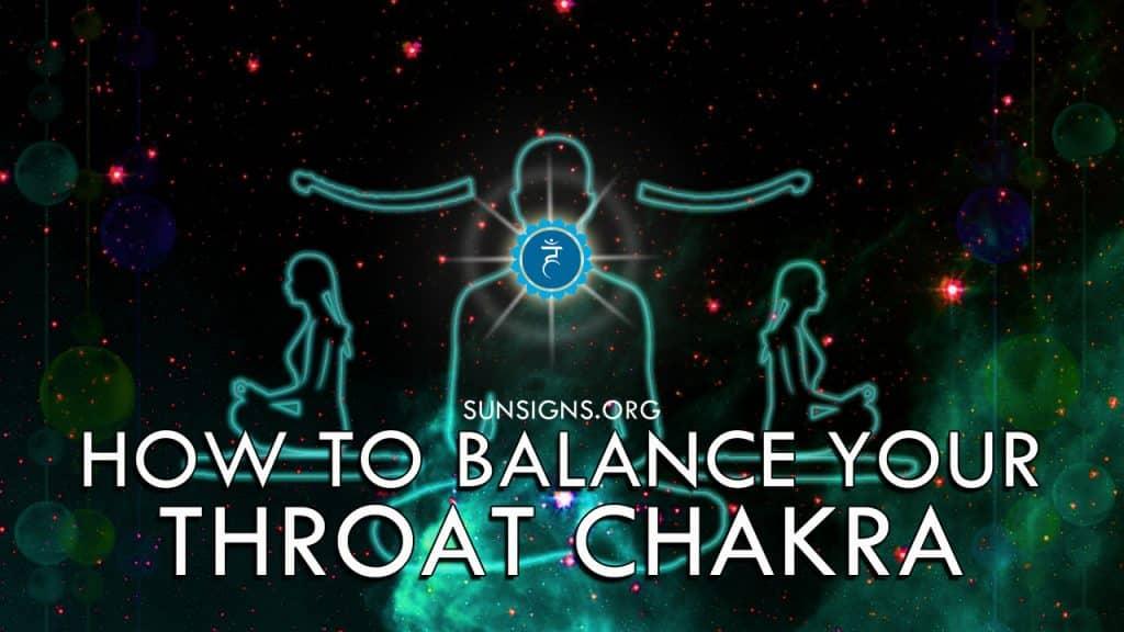 How To Balance Your Throat Chakra Vishuddha
