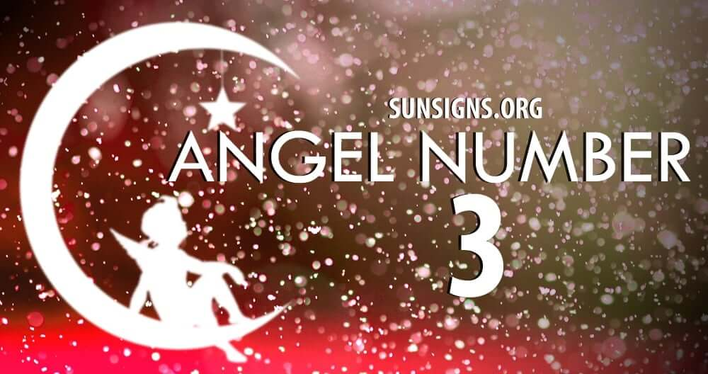 Angel Number 3 is a very special message to receive from the spiritual realm