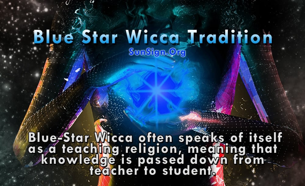The founder of Blue-Star Wiccan tradition was Frank Duffner