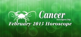 February 2015 Cancer Horoscope forecasts that you need to concentrate on social skills to get things done