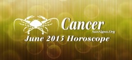 Cancer June 2015 Horoscope predicts that your focus will deviate from career and profession to family and personal matters
