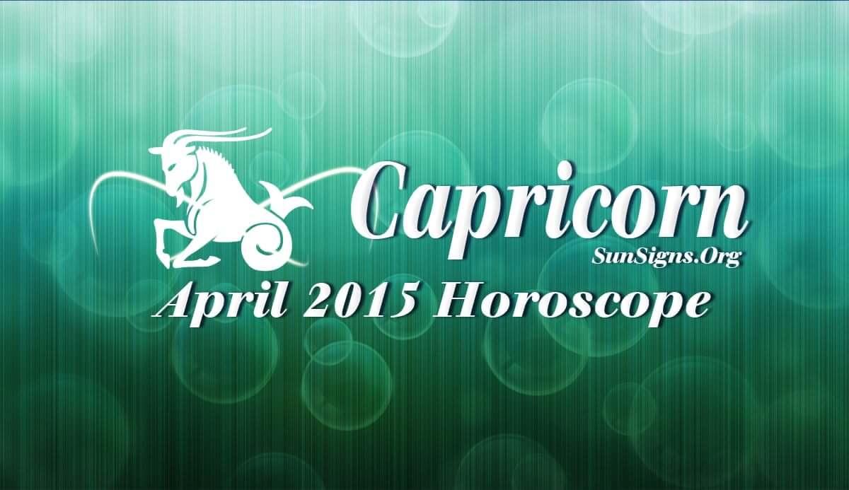 April 2015 Capricorn M...