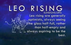 Leo Rising astrology shows that they were born for the limelight.