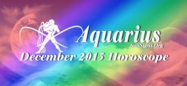 December 2015 Aquarius Monthly Horoscope