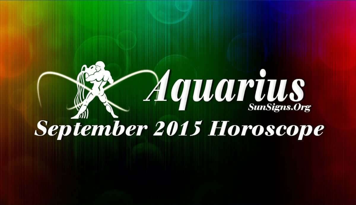 Aquarius September 2015 Horoscope points to more stress on career issues over home and emotional areas