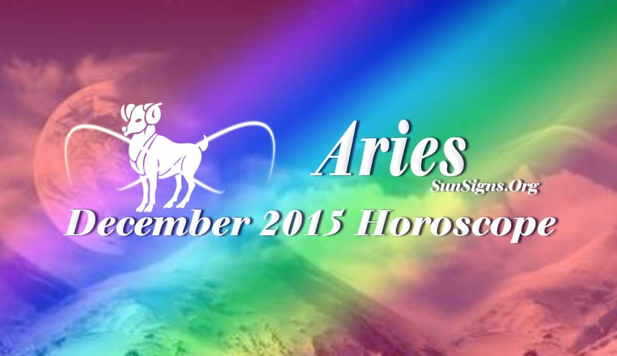 December 2015 Aries Horoscope forecasts that self-will and determination will be the dominating factor for Arians