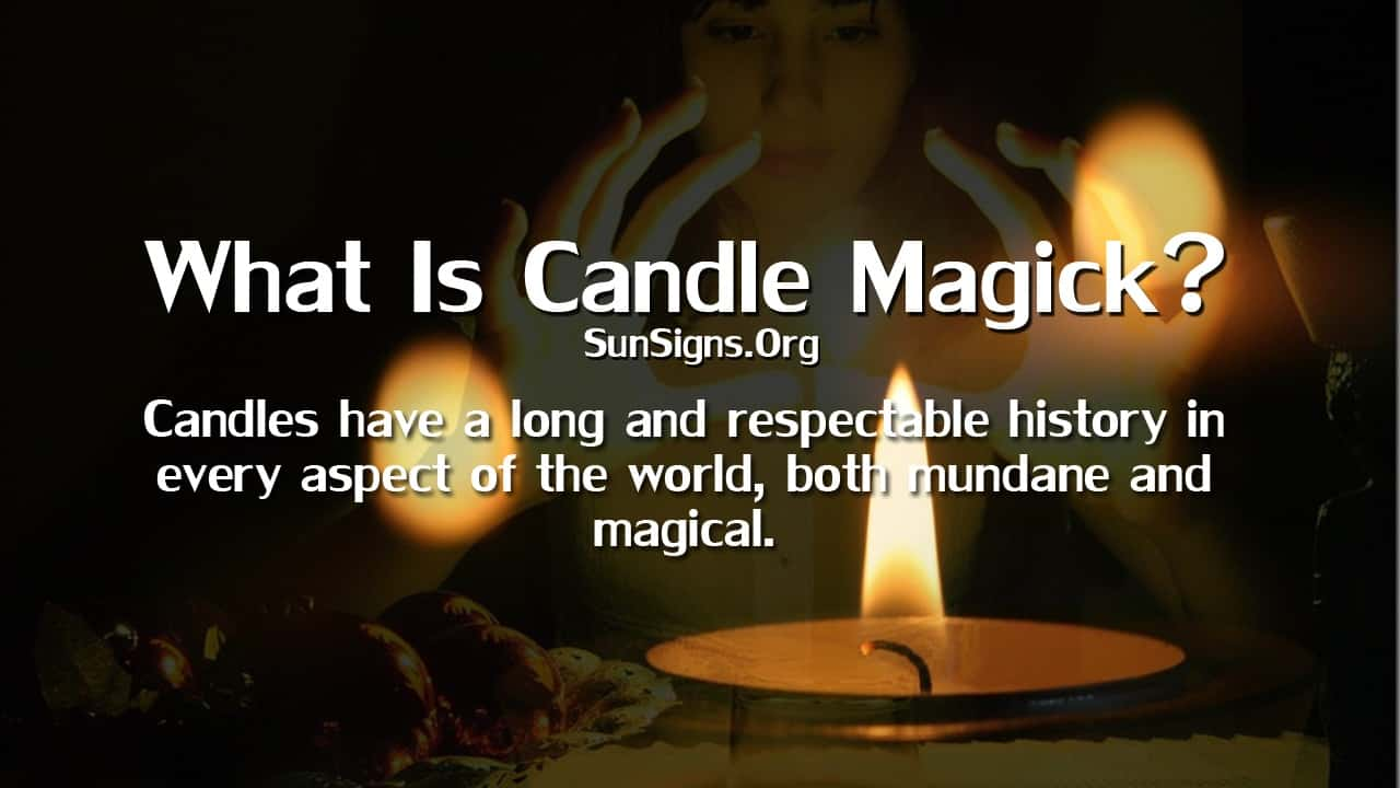 Candle magic is a natural extension of being a powerful symbol