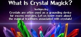 There are many different aspects to consider when utilizing crystal magic, some of them based on how crystals form