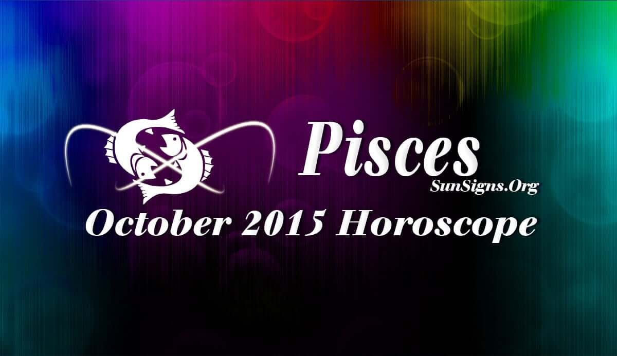 October 2015 Pisces Horoscope predicts the importance of communication skills