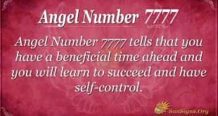 Angel Number 7777