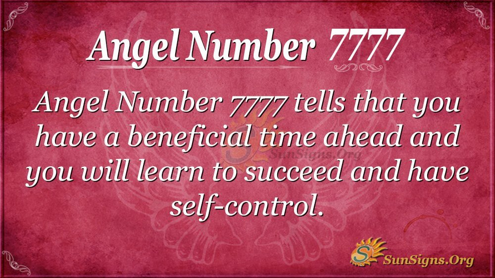 Angel Number 7777 Meaning - Are You On The Right Path