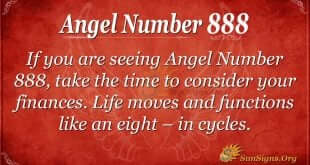 Angel Number 888