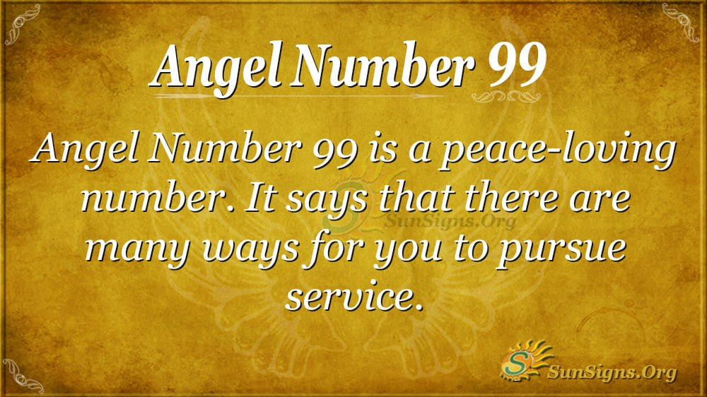 Angel Number 99