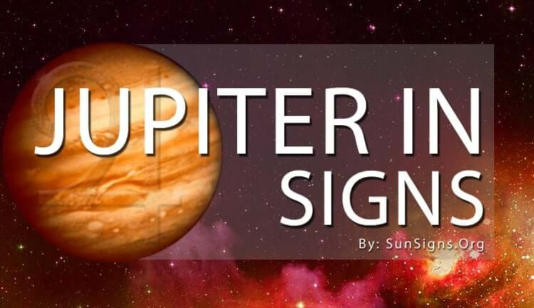 jupiter in signs signifies good luck and fortune