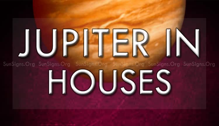 jupiter in houses symbolizes good fortune