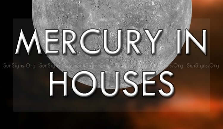Mercury in the 12 houses stands for communication