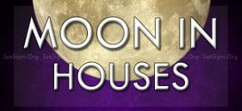 Moon In Houses Symbol & Meanings